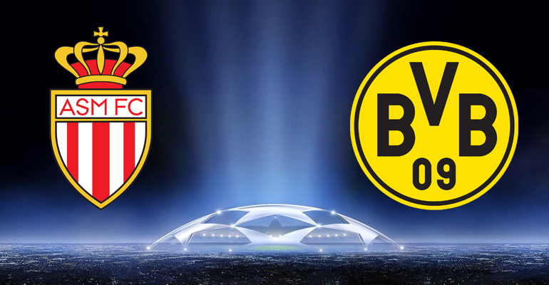 Image result for Borussia Dortmund vs Monaco champions league quarter finals
