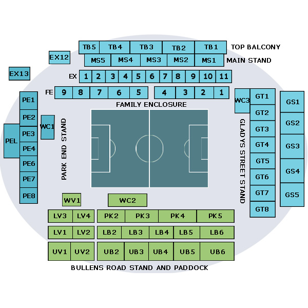 2015/16 Premier League Tickets for Manchester United Vs Everton