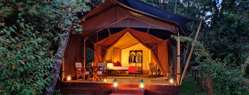 Elephant Pepper Mara Camp tented room exterior