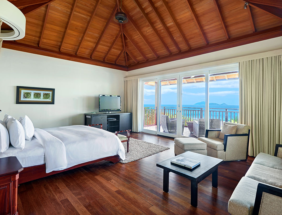 Hilton Seychelles Labriz Resort & Spa  presidential-villa-background
