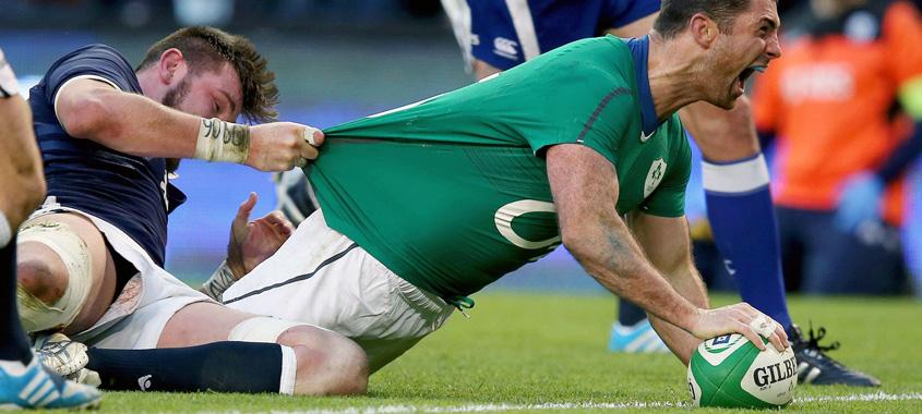 Ireland Vs Scotland 2016 RBS 6 Nation