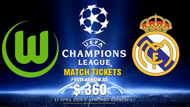Real Madrid vs VfL Wolfsburg