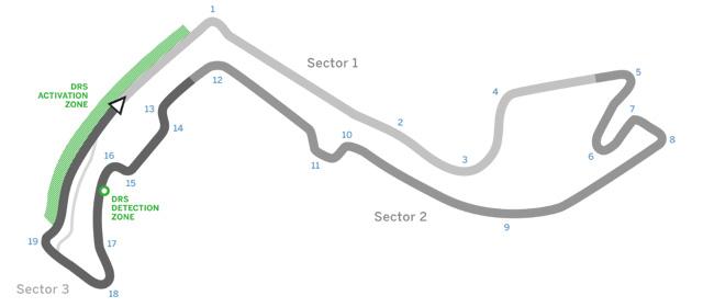 monaco grand prix track map